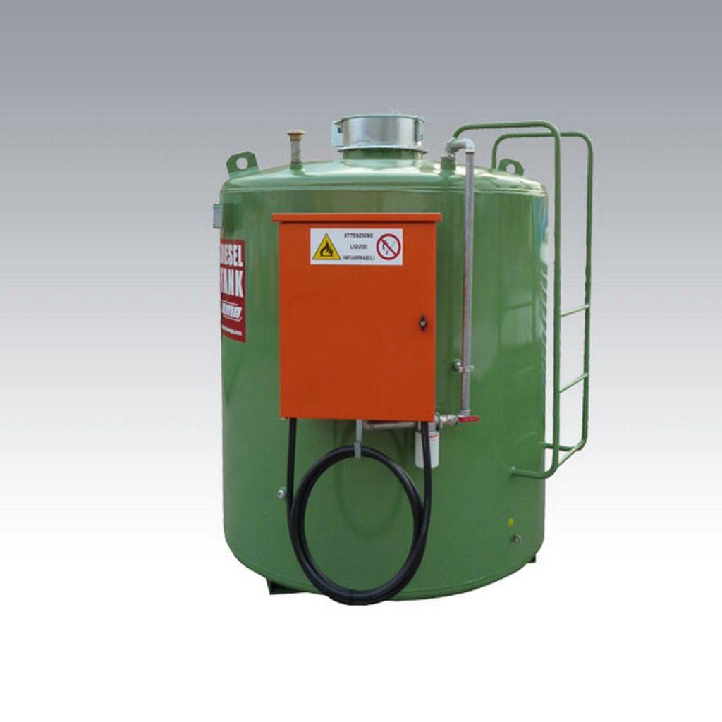 čelični nadzemni duplozidni rezervoar