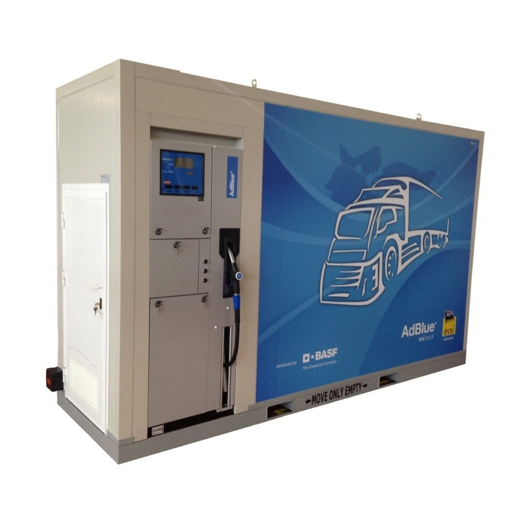 Ad Blue kontejner pumpa