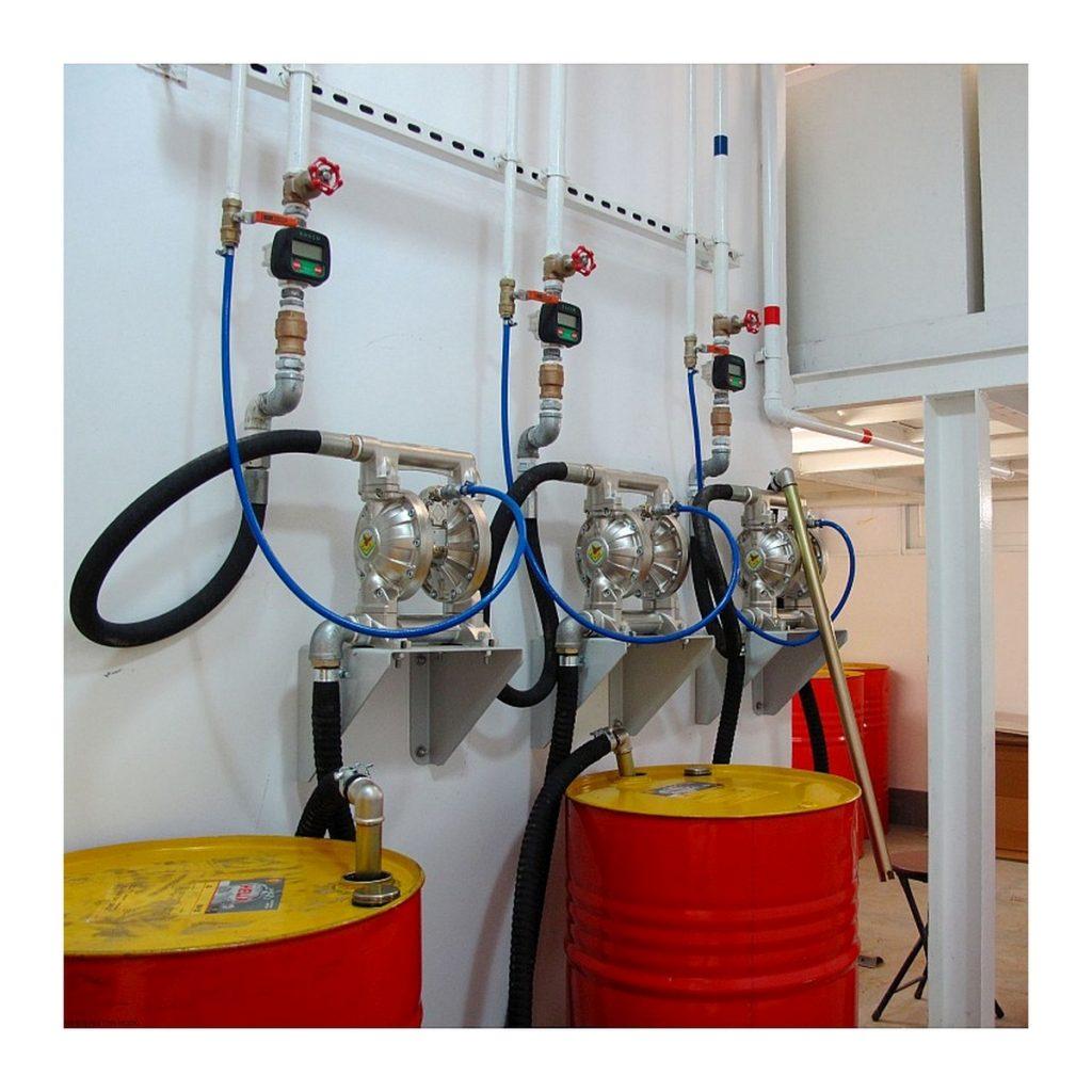 aluminijumska membranska pumpa