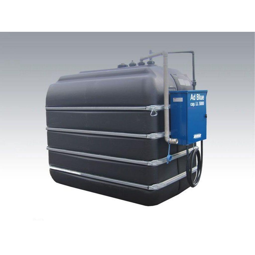 AdBlue tank / polyethylene / storage / horizontal