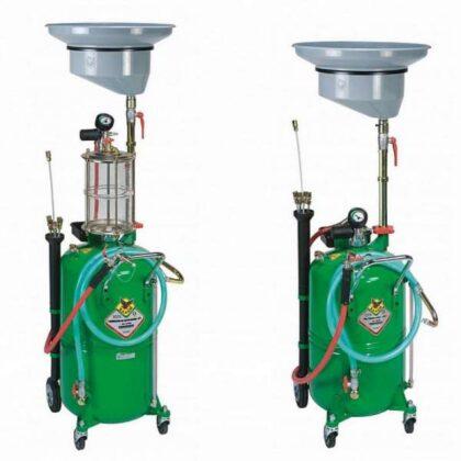 Uređaj za gravitaciono i pneumatsko izvlačenje ulja