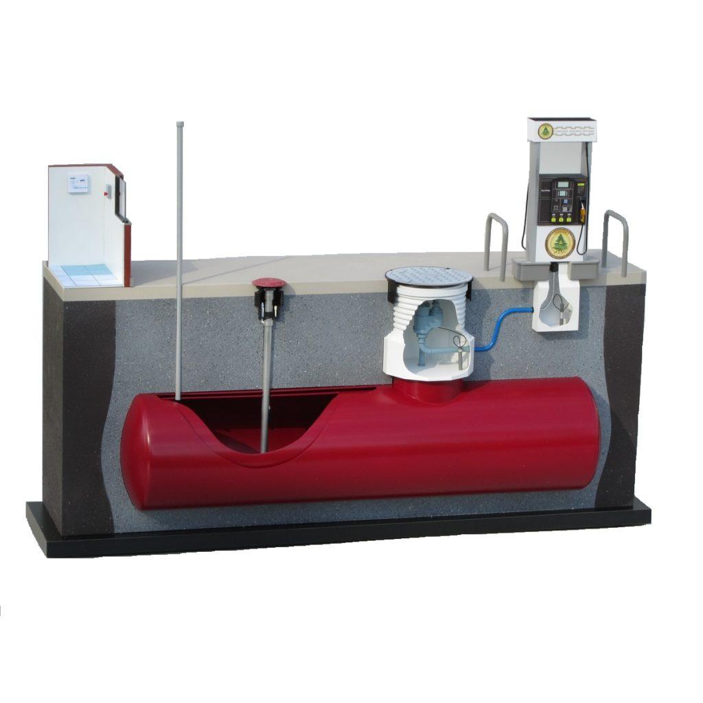 Podzemni rezervoar 3D prikaz
