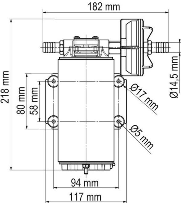 nerđajaći čelik pumpa