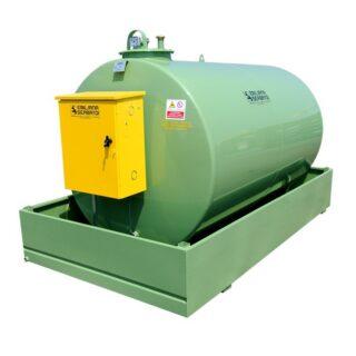 Nadzemni horizontalni rezervoar za dizel gorivo