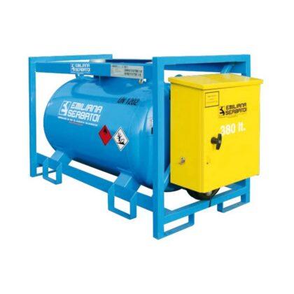 Prenosni mobilni rezervoar-cisterna za dizel gorivo sa ADR odobrenjem