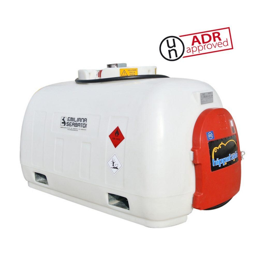 transportni plastični ADR rezervoar