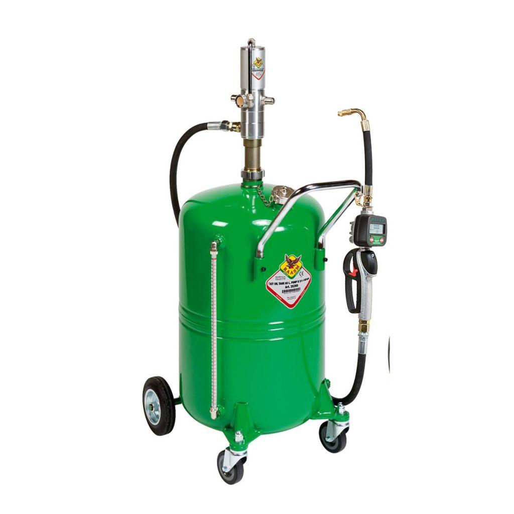 zračna pumpa ulja sa posudom