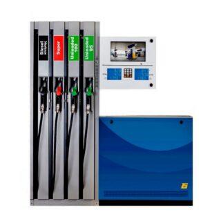 Pumpne stanice sa više pištolja za istakanje goriva