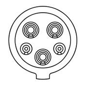 motalica TIP1 za električni automobil