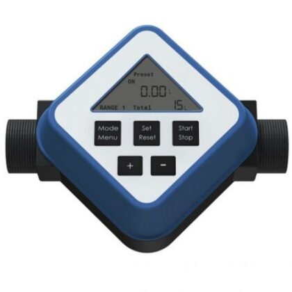 Turbinski merač protoka za kiseline FM-120 PVDF